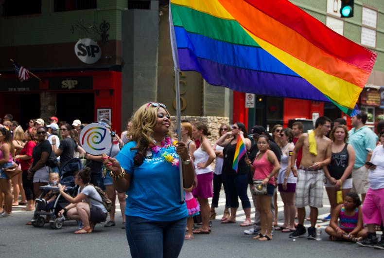 August 17 2014: Charlotte Pride Parade