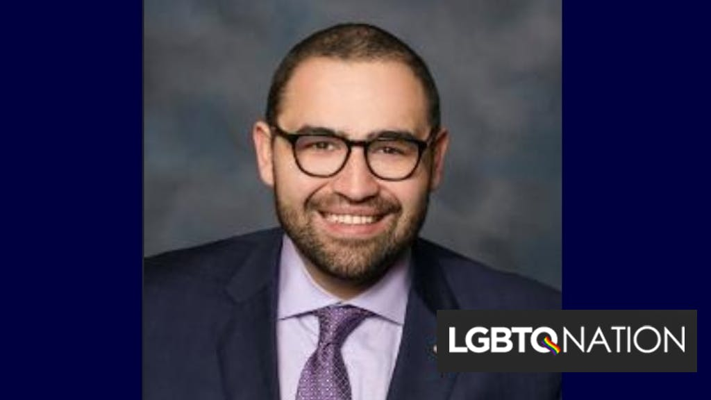 Gay lawmaker flees home after receiving threatening messages
