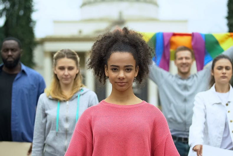 LGBTQ young people