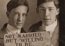 Historical photos of men in love: They were born 120 years too early