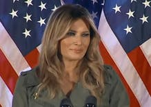 "Melania Trump says Democrats want to ""destroy our traditional values"""