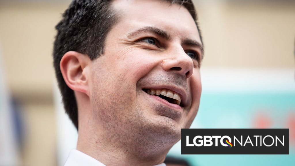 Pete Buttigieg rips into Donald Trump for leaving his supporters in the freezing cold