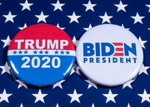 Tallying up political endorsements, Trump v. Biden