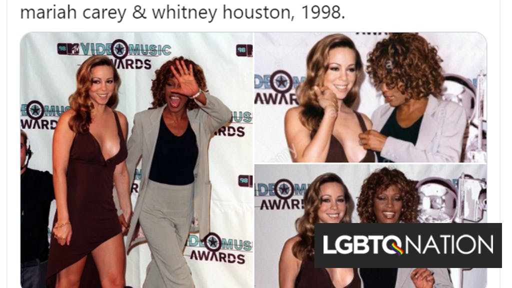 The internet imagines Whitney Houston & Mariah Carey as a couple after photos of them resurface thumbnail