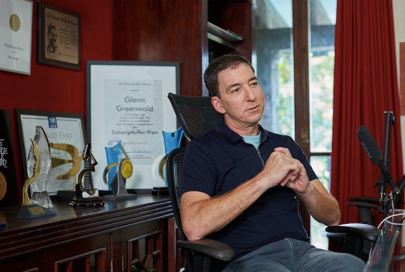 "Glenn Greenwald hates Pete Buttigieg's politics but he's ""the most talented politician"" since Obama"