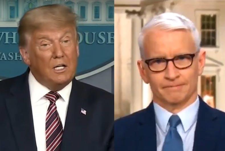 Donald Trump/Anderson Cooper