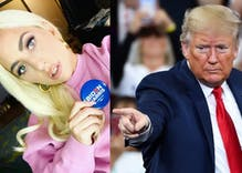 Lady Gaga eviscerated Donald Trump at a Biden rally. Trump couldn't pronounce her name at his rally.